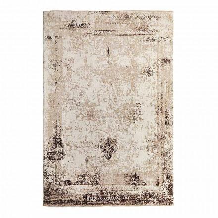 Vintage Design Vardagsrumsmatta i polyester och bomull - Hola