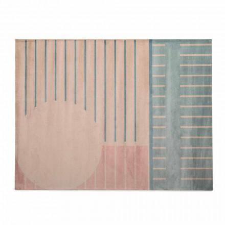 Kvalitetsvardagsrumsmatta i polyamid och polyester Tillverkad i Italien - Madama