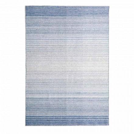 Rektangulärt vardagsrumsmatta Handvävd i polyester och bomull - Zonte