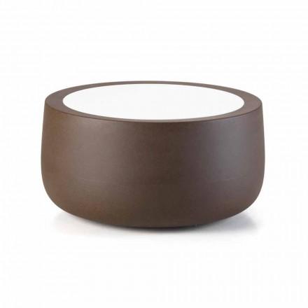 Lågt design utomhus soffbord i HPL och polyeten Tillverkat i Italien - Belida