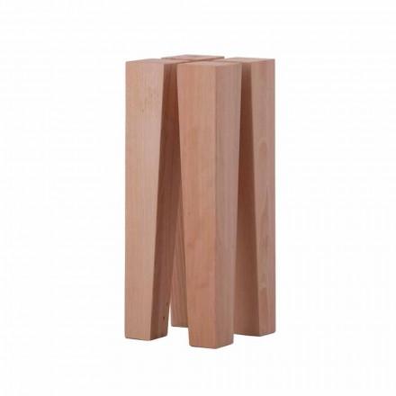 Modernt soffbord för modern design i bokträ - Roncone