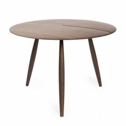 Soffbord i massiv valnöt eller aska tillverkad i Italien - Maxime