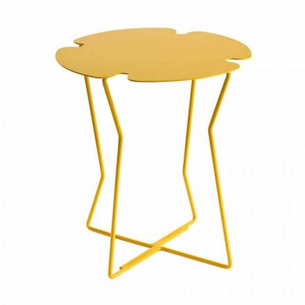 Soffbord för vardagsrum i metall, design av olika färger - Kathrin