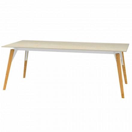 Soffbord Marmoreffekttopp, 3 färger 2 storlekar - Faz Wood av Vondom
