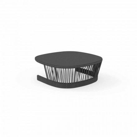 Cliff utomhusbord av Talenti, i sladd och aluminium, design av Palomba