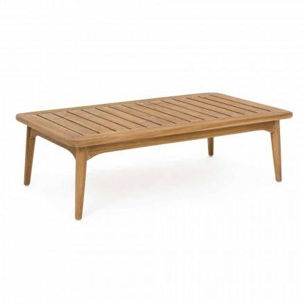 Homemotion Modern Teak Wood utomhusbord - Luanaedmea