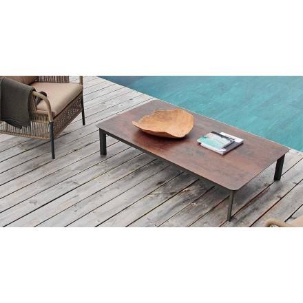 Varaschin System utomhus design bord i målade aluminium
