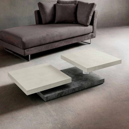 Soffbord med roterande toppar i HPL Made in Italy, Precious - Paris