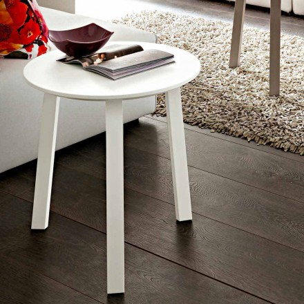 Soffbord med rund topp i Fenix Made in Italy, Precious - Tobiko