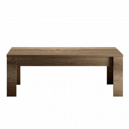 Design Soffbord i Ek eller Vit Melamin Tillverkad i Italien - Terno