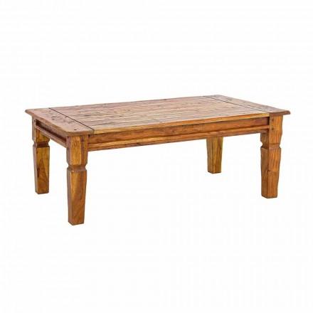 Massivt Acacia Wood Soffbord Homemotion Classic Design - Remo