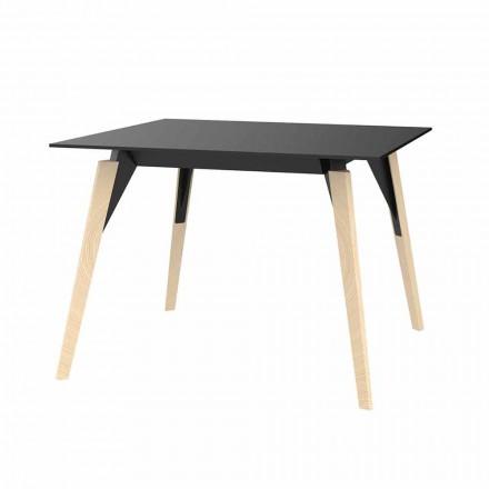 Soffbord i trä och Hpl Olika färger 2 storlekar - Faz Wood av Vondom