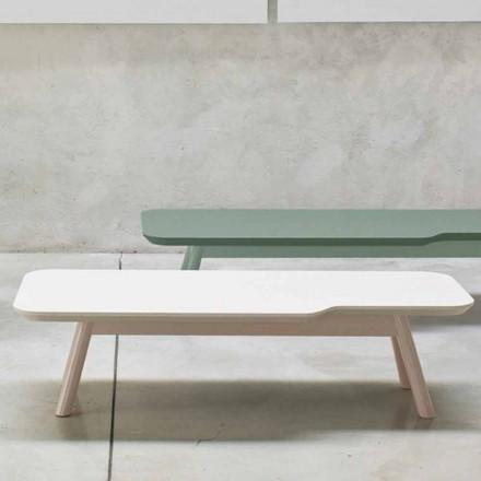 Dyrbart soffbord i massivt askträ Tillverkat i Italien - Ulm
