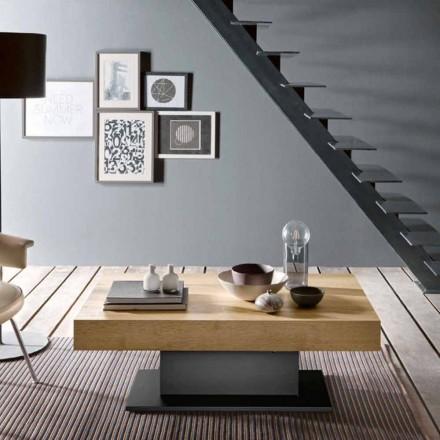 Transformatorbord i trä och stål Tillverkat i Italien - Demetro