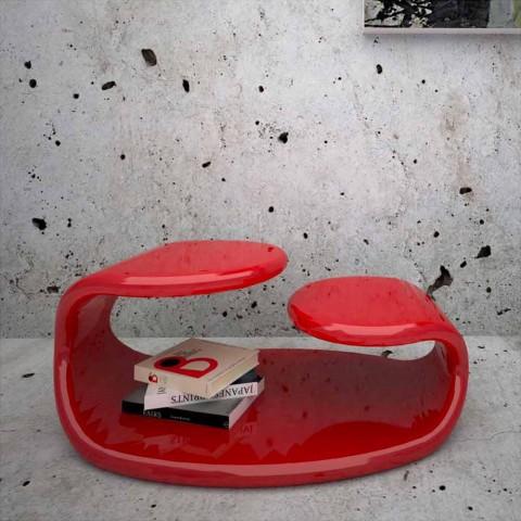 Baizo 'Design Modern Kaffebord Made In Italy