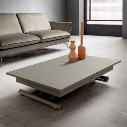 Omvandlingsbart vardagsrumsbord i Fenix och metall tillverkat i Italien - Chiano