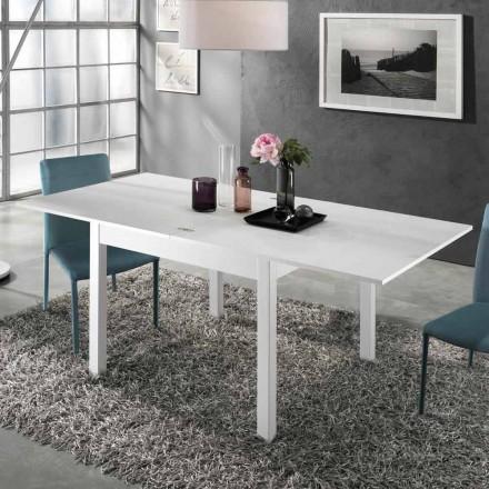 Utdragbart bord till 2 m från 10 platser med modern design i trä - Tuttetto
