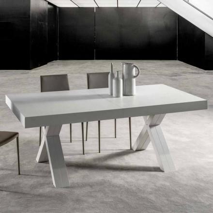 Utdragbart bord med topp i laminerat trä - Atessa