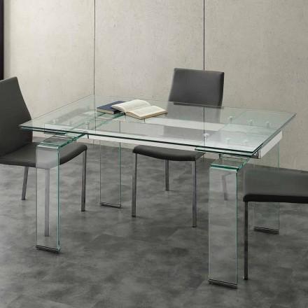 Utöka bord med härdat glas Lord