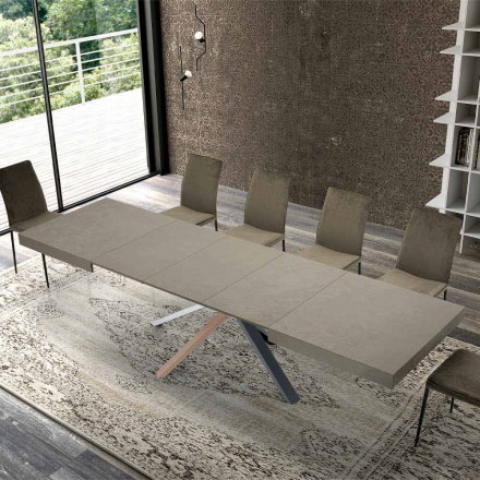Utdragbart matbord i modernt trä upp till 3,1 m - Argentario