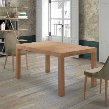 Utdragbart bord upp till 470 cm i Venereed Wood Tillverkat i Italien - Gordito