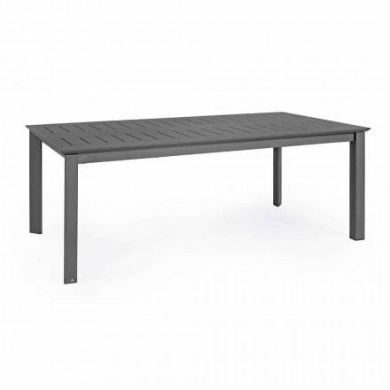 Utdragbart utomhusbord i hemmakänsla i modern design av aluminium - Casper