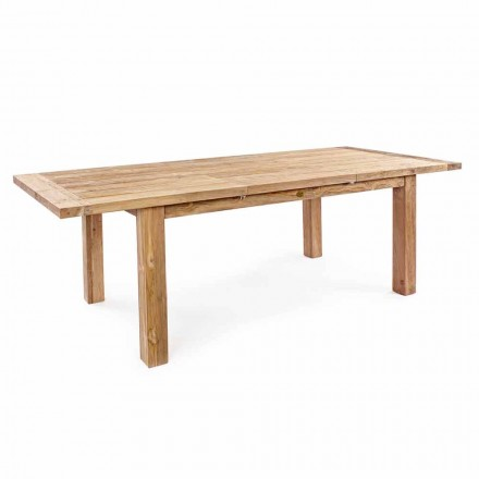 Homemotion - Hunter Teak Wood utdragbart trädgårdsbord upp till 250 cm