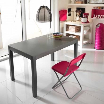 Utdragbar bord i bokträ gjort i Italien Tito