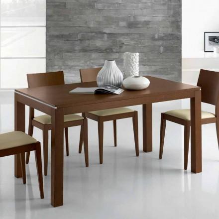 Utdragbart designbord Upp till 350 cm i Ash Wood tillverkat i Italien - Ketla