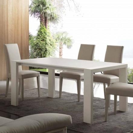 Utdragbar bord i melamin MDF och modern Jesi