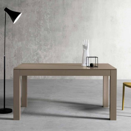 Modernt utdragbart askhissbord tillverkat i Italien av Leffe