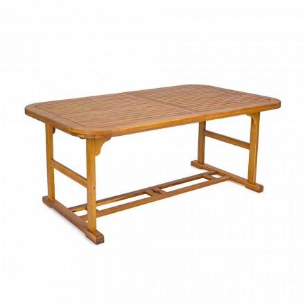 Utdragbart bord Upp till 240 cm i trädgårdsved, av design - Roxen