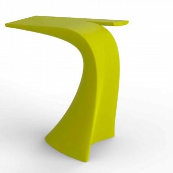 Design högt utomhusbord H 100 cm, i polyeten, Wing Vondom