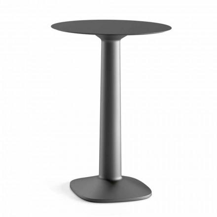 Runt högbord i polyeten med Hpl-topp tillverkad i Italien - Pito