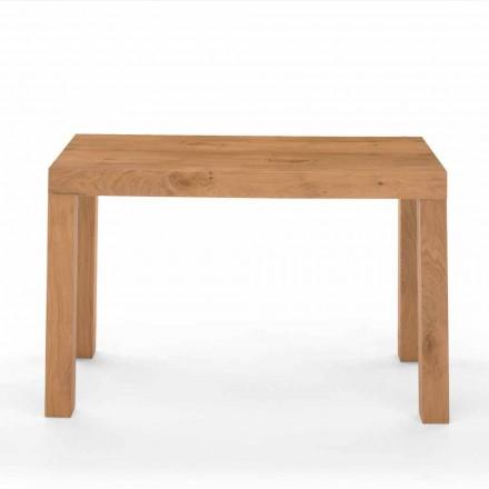 Utdragbart konsolbord i finérat trä tillverkat i Italien - Gordito