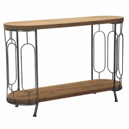 Konsolbord i modern stil i järn och MDF - Trisha