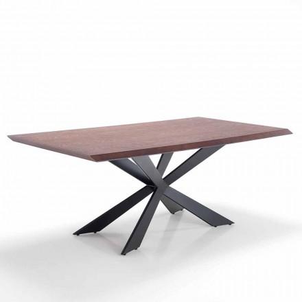 Matbord för modern design i Mdf och metall - Hoara