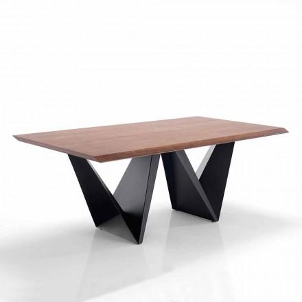 Matbord för modern design i Mdf och metall - Helene