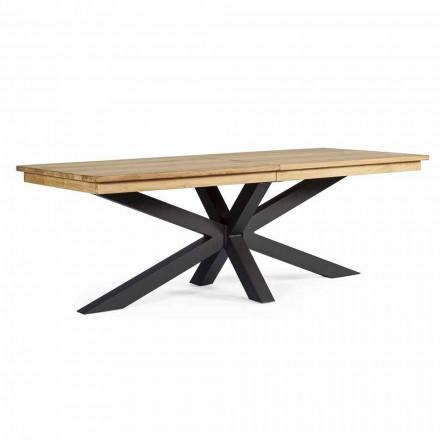 Utdragbart utomhusbord Upp till 300 cm i teak, Homemotion - Selenia