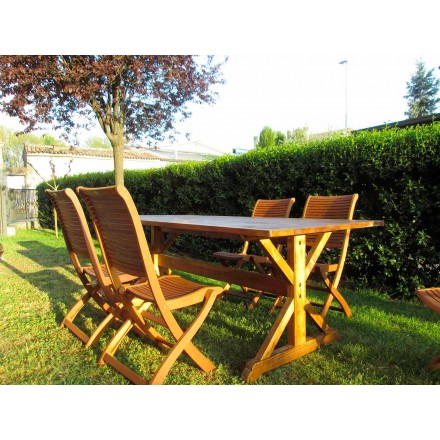 Rustik stil Fir Wood bord tillverkat i Italien - Clinio