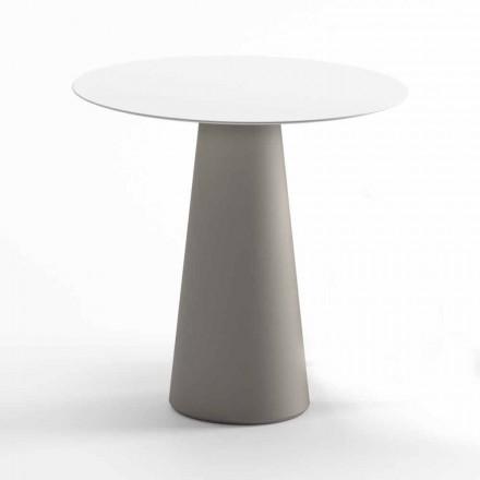 Modernt utomhusbord i HPL och ogenomskinlig polyeten Tillverkad i Italien - Forlina