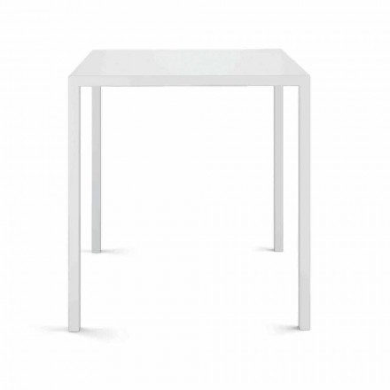 Fyrkantigt utomhusbord tillverkat i Italien - Benedict