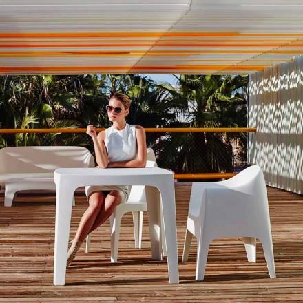 Utomhus kvadratbord Solid av Vondom i polypropen, modern design