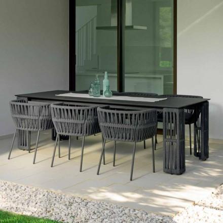 Utdragbart trädgårdsbord upp till 300 cm Cliff Talenti från Palomba