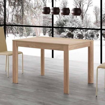Fiumicino utdragbart matbord 130x80 öppet 190 cm, design