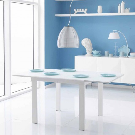 matbord med glasskiva Teo