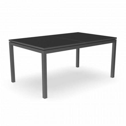 Utdragbart trädgårds matbord 280 cm i aluminium - Adam av Talenti