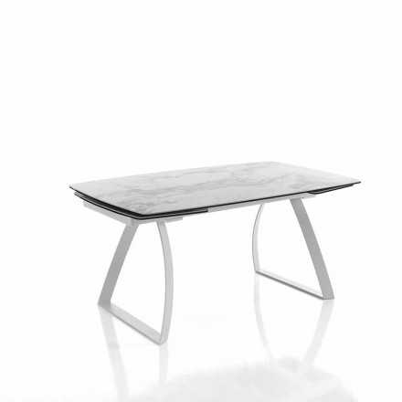 Design utdragbart matbord i glaskeramik - Willer