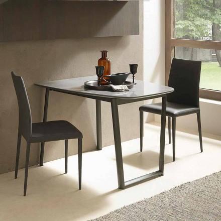 Utdragbart matbord Upp till 170 cm i keramik tillverkat i Italien - Tremiti