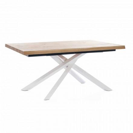 Utdragbart matbord Upp till 240 cm i trä Tillverkat i Italien - Xino